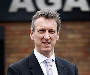 William McGrath CEO of Aga Rangemaster Group Plc